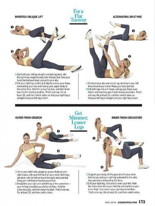 Leg Exercises From Tracy Anderson