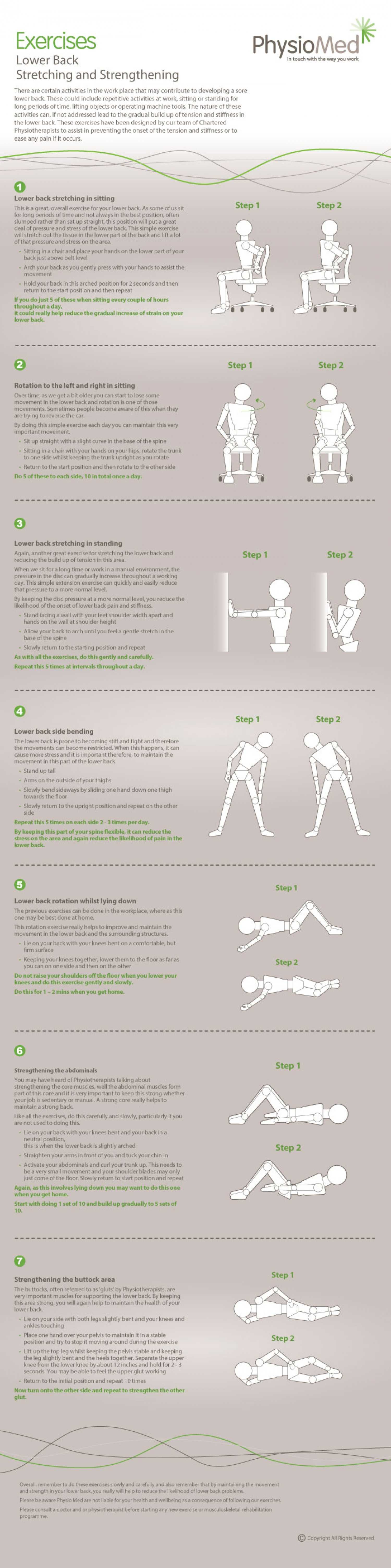 Lower Back Stretching And Strengthening