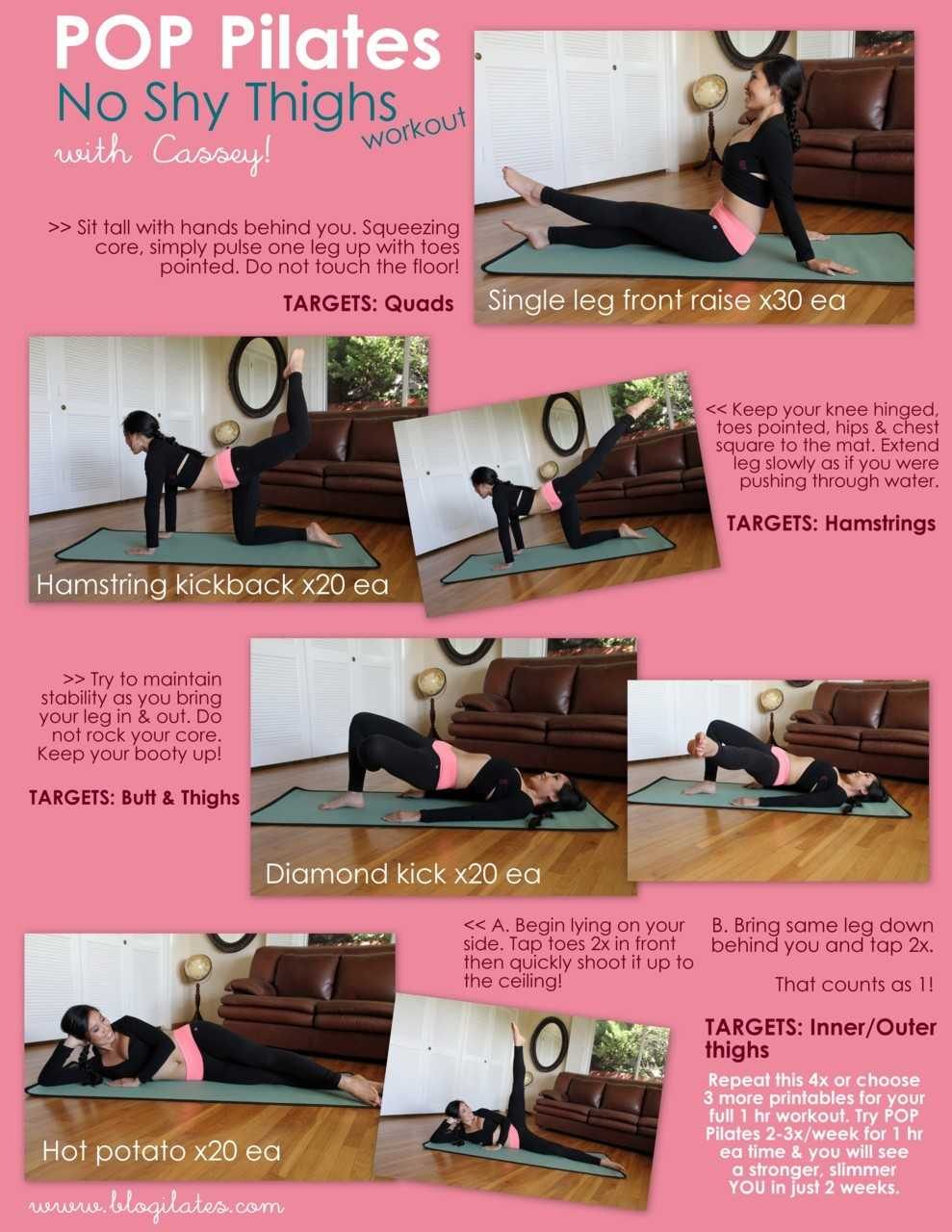 Pilates For Thighs