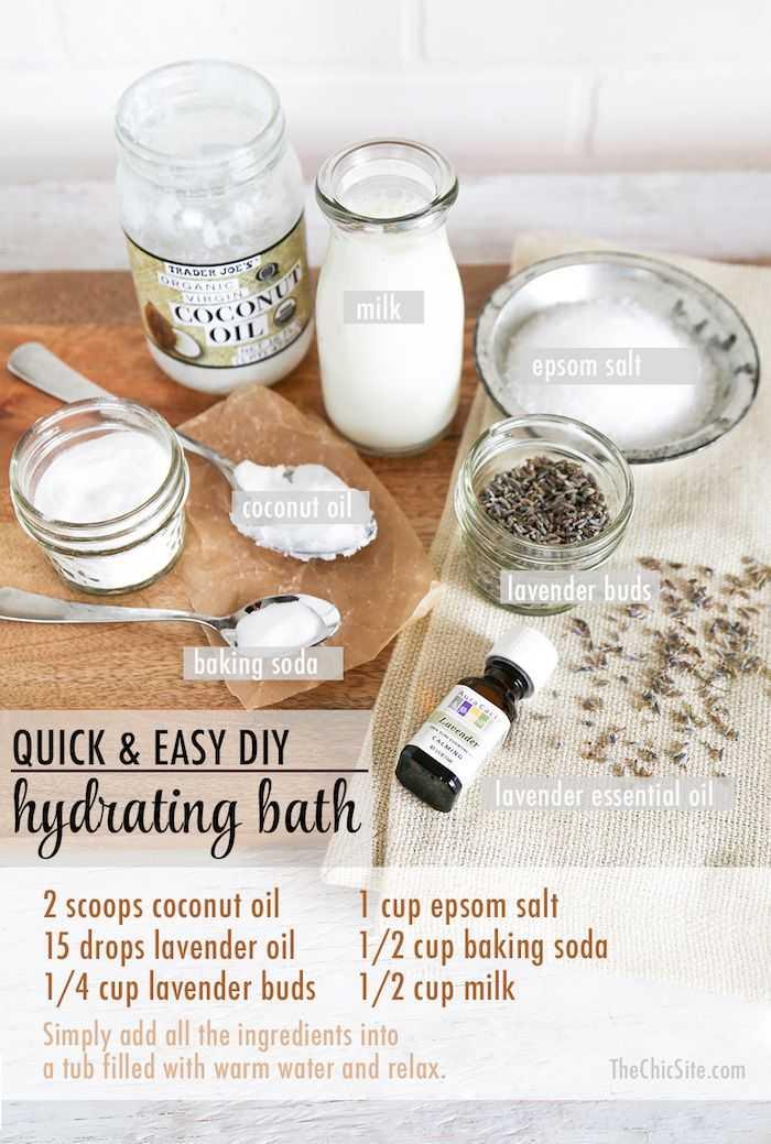 Quick & Easy DYI Hydrating Bath