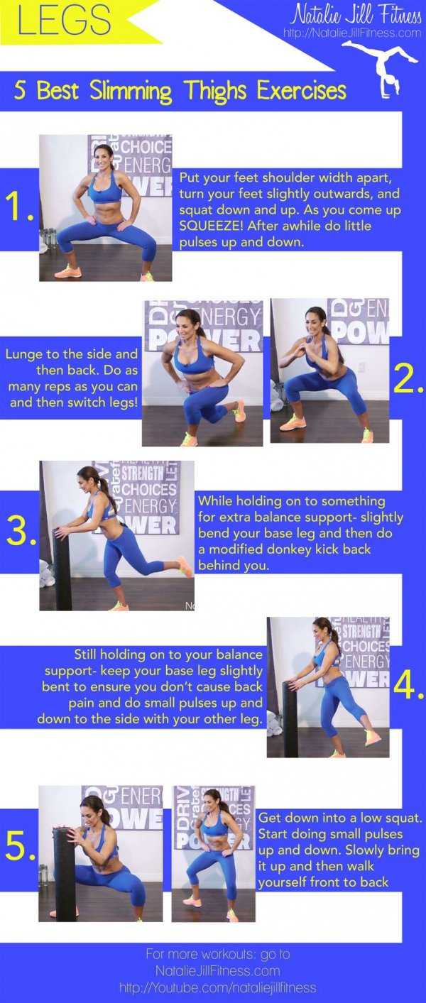 Slimming Thighs Exercises