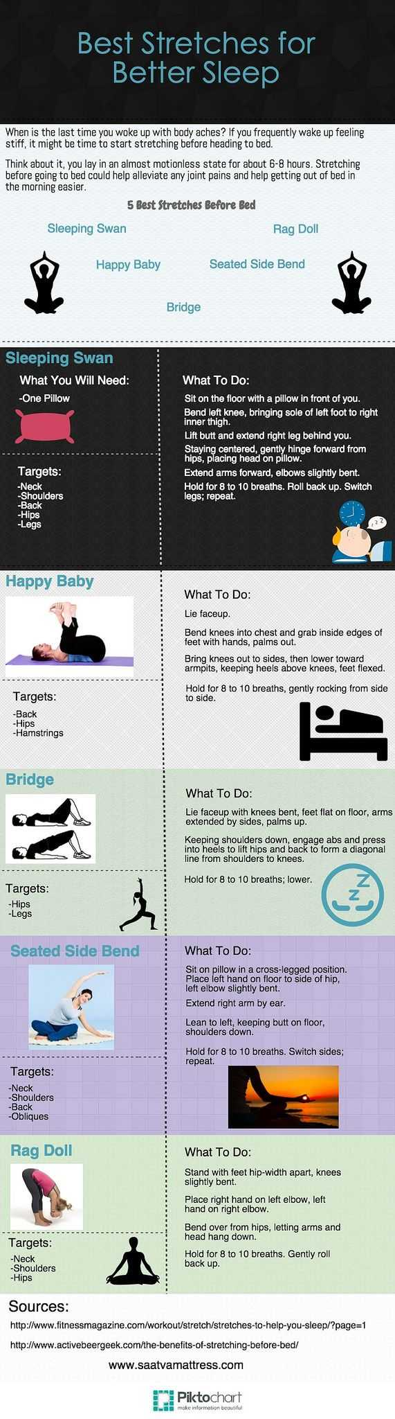 Stretches For Better Sleep