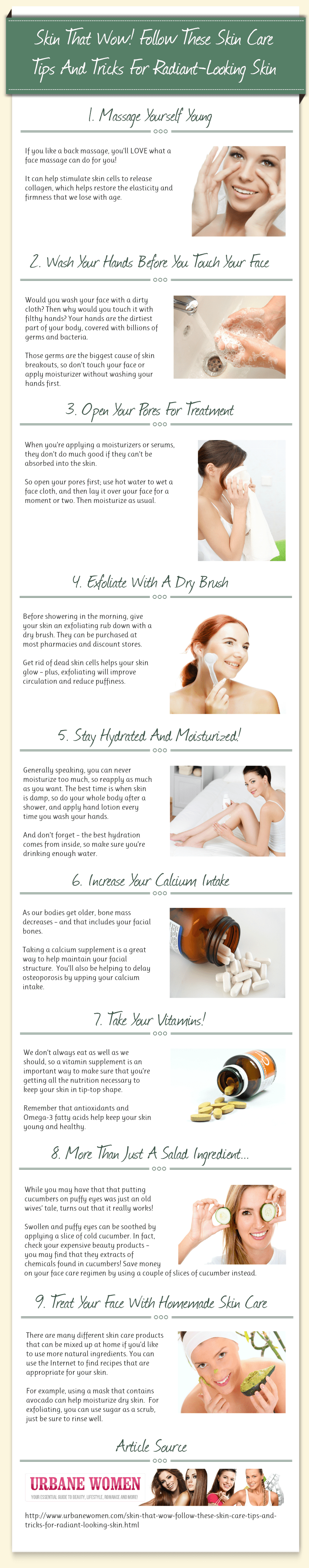 Tips And Tricks For Radiant-Looking Skin
