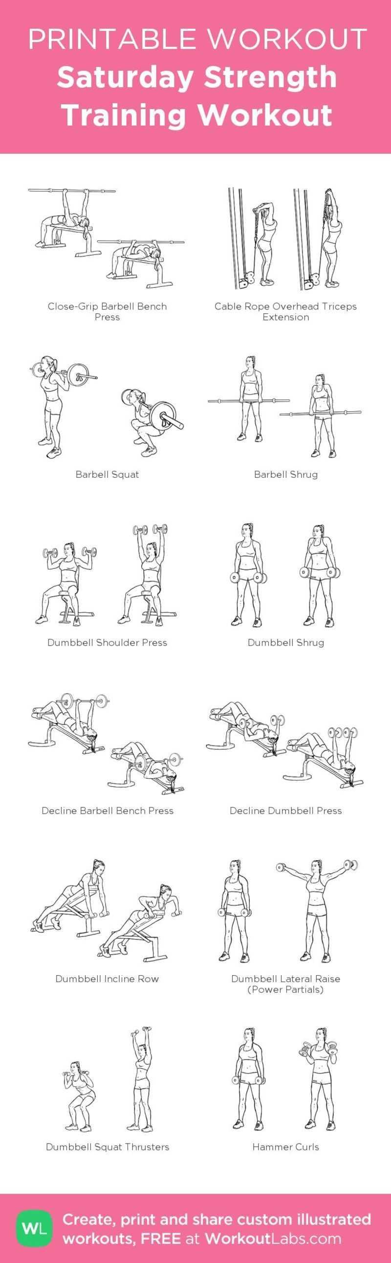 Toning Legs & Thighs Gym Workout
