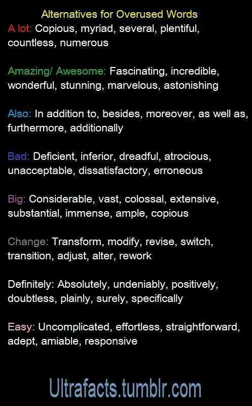 Upgrade Some Most Commonly Used Words