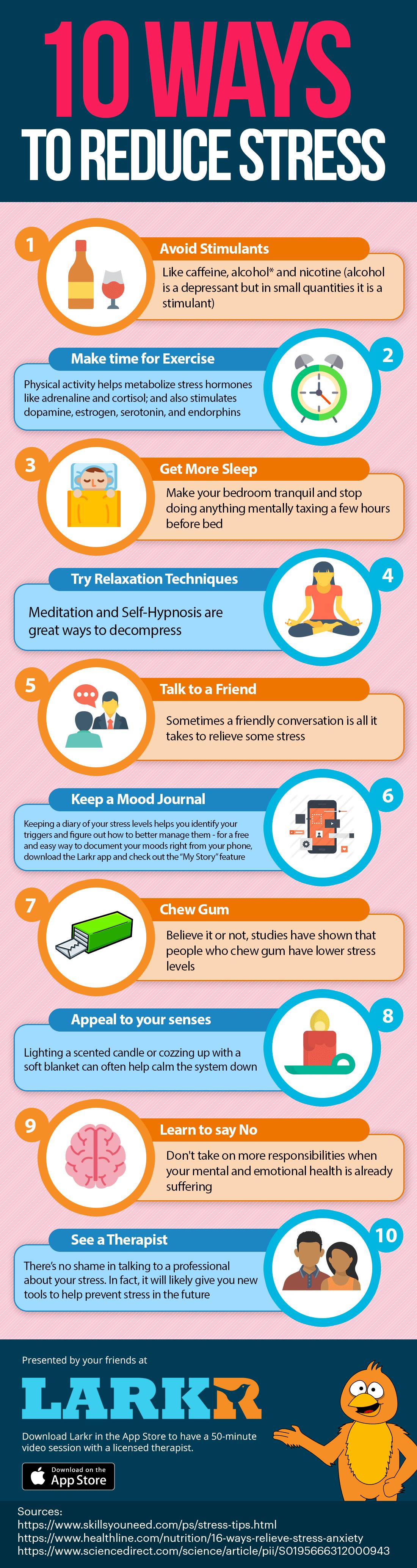 10 Simple Ways To Reduce Stress