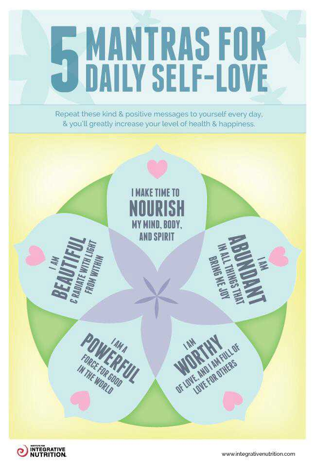 5 Mantras For Daily Self-Love