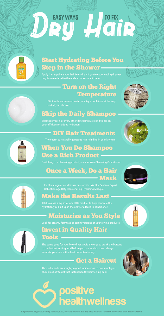 Easy Ways To Fix Dry Hair