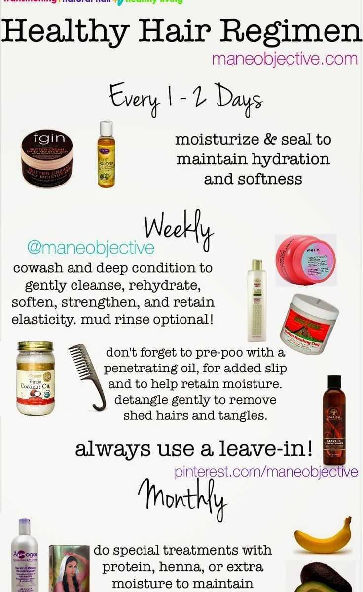 Healthy Hair Regimen