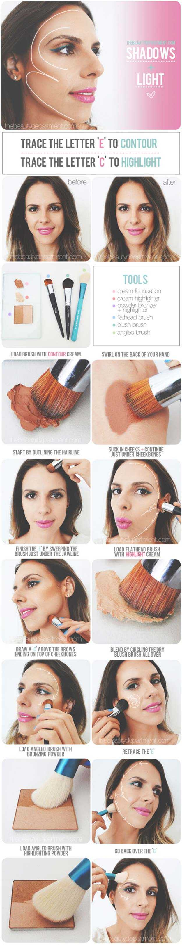 Highlighting And Contouring Hacks, Tips And Tricks That Will Change Your Life