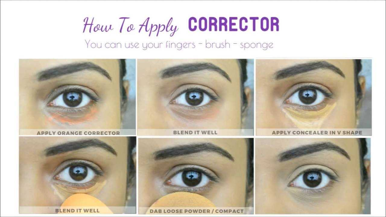 How To Apply Corrector