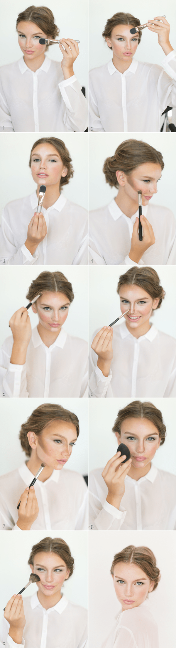 How To Contour And Highlight Your Wedding Make-Up