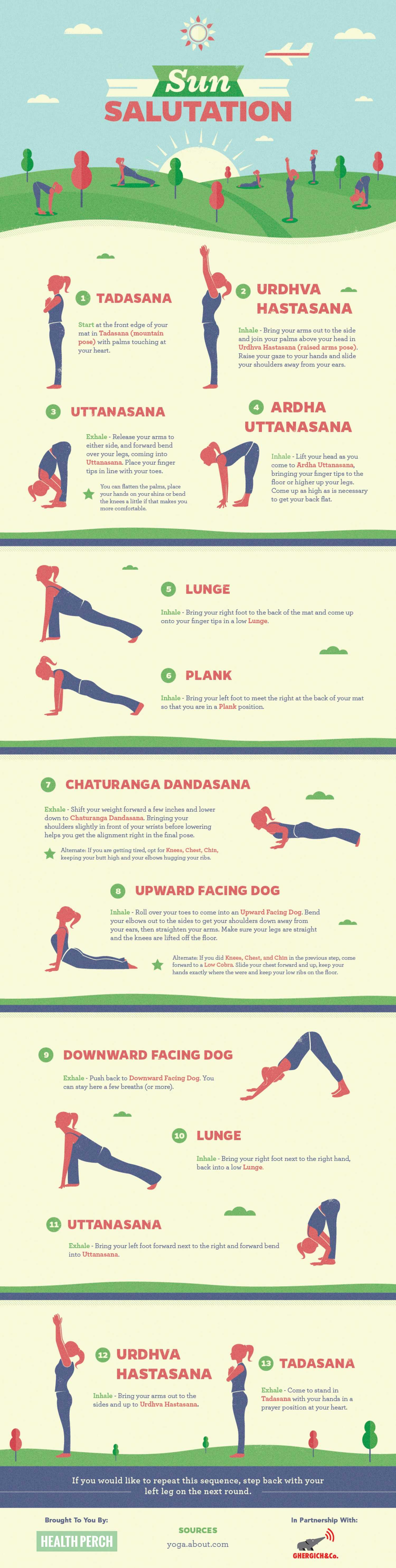 How To Do Sun Salutation