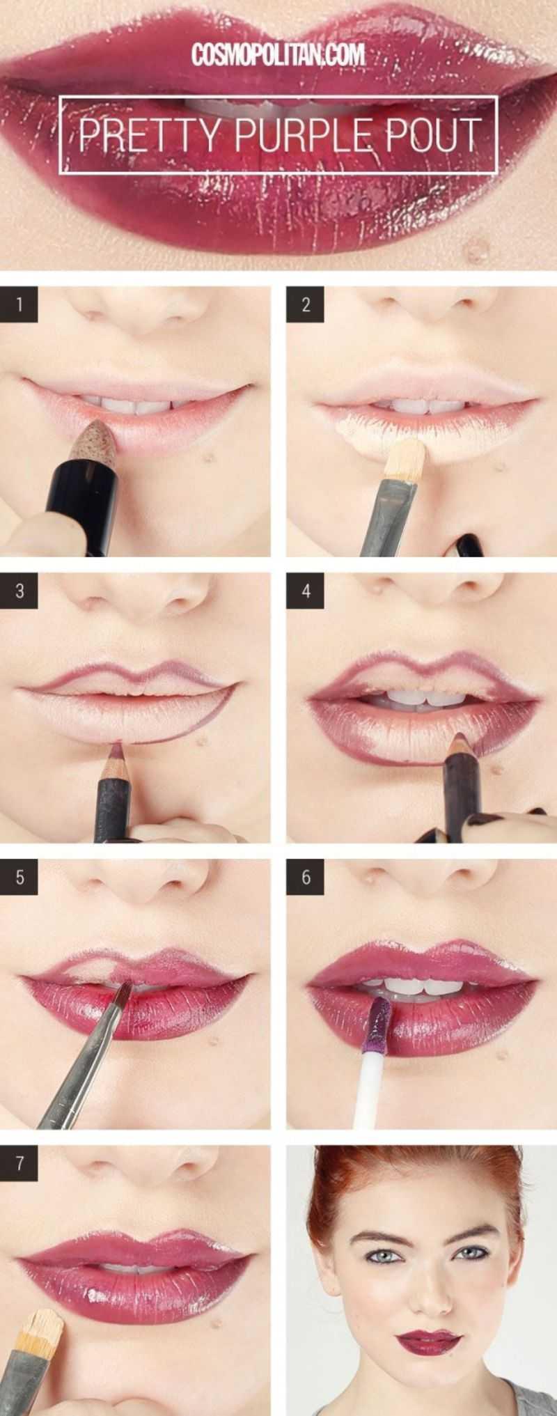 How To Get A Super Sexy Dark Purple Lip