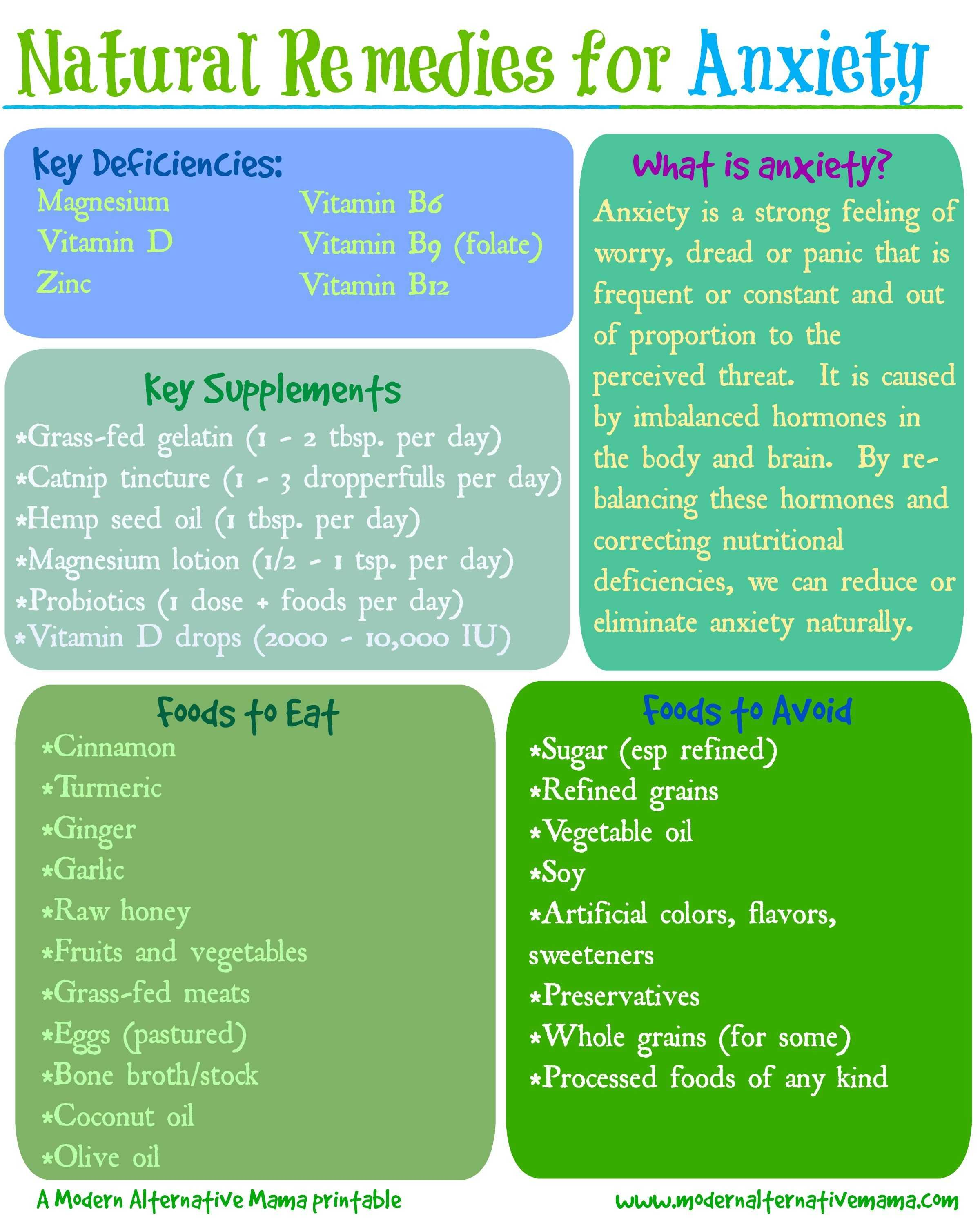 Natural Remedies For Anxiety