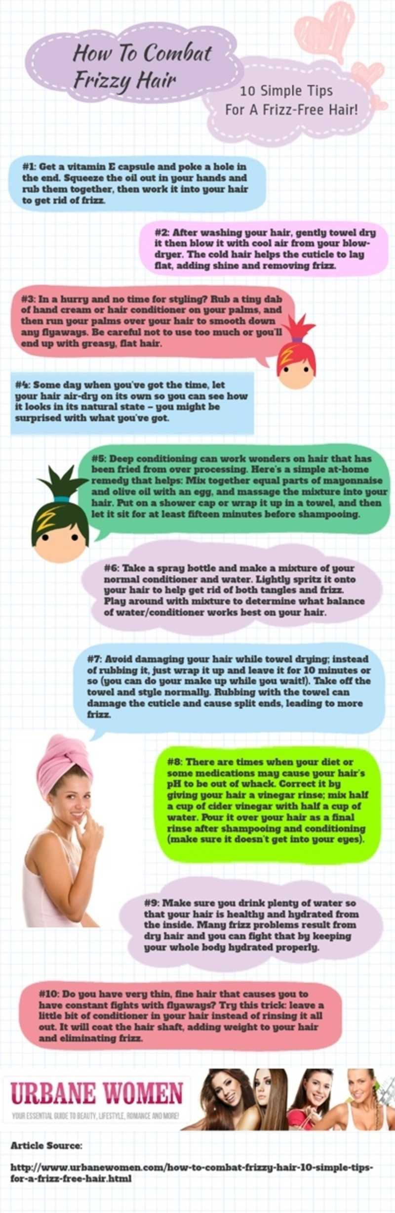 Simple Tips For Frizz-Free Hair