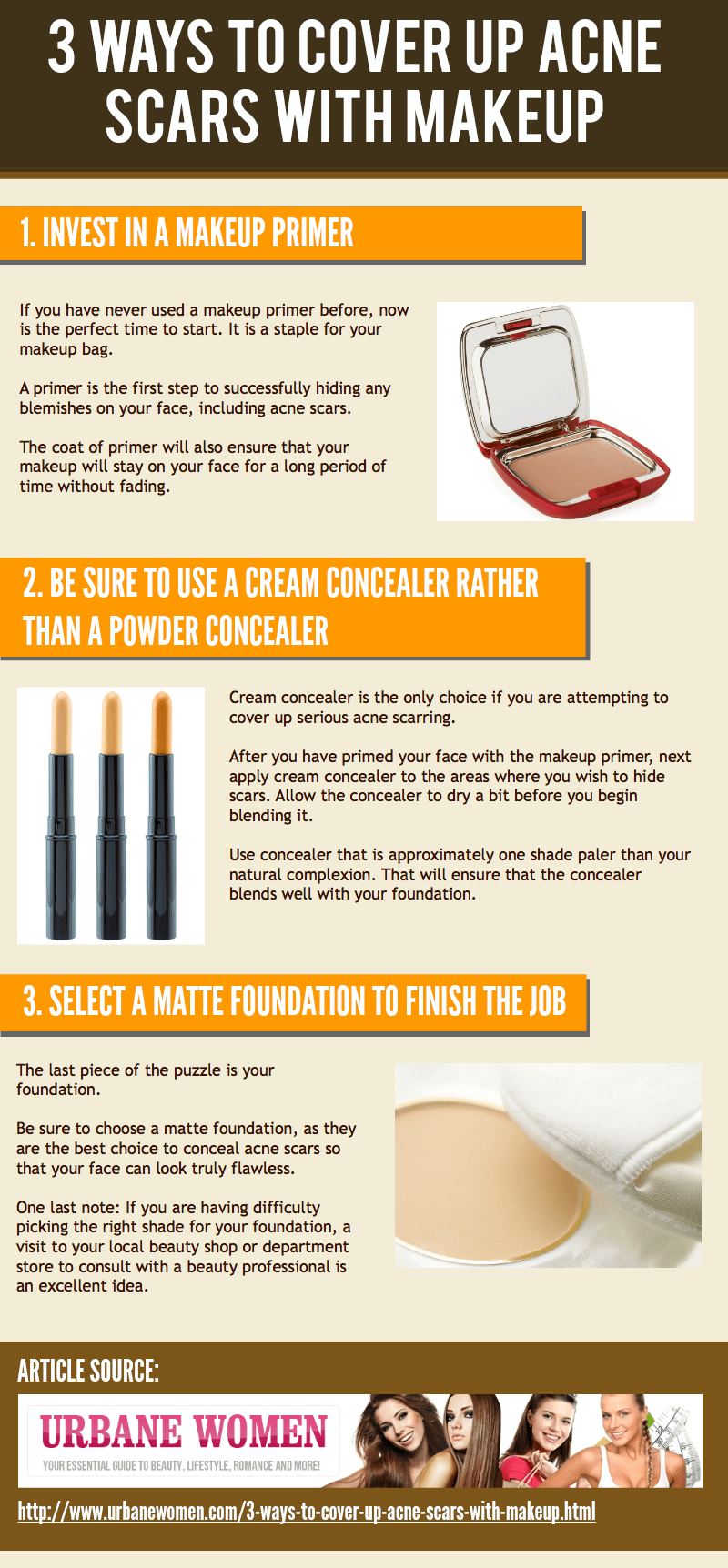 3 Ways To Cover Up Acne Scars With Makeup