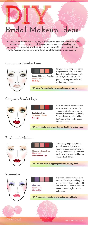 DIY Bridal Makeup Ideas