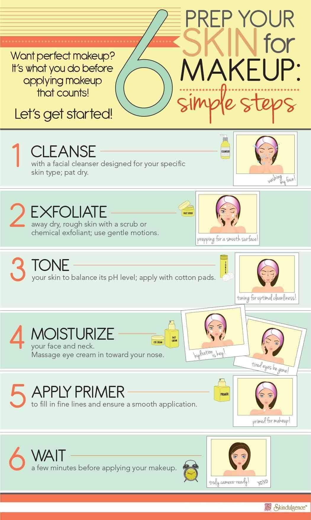 How To Prep Skin For Makeup