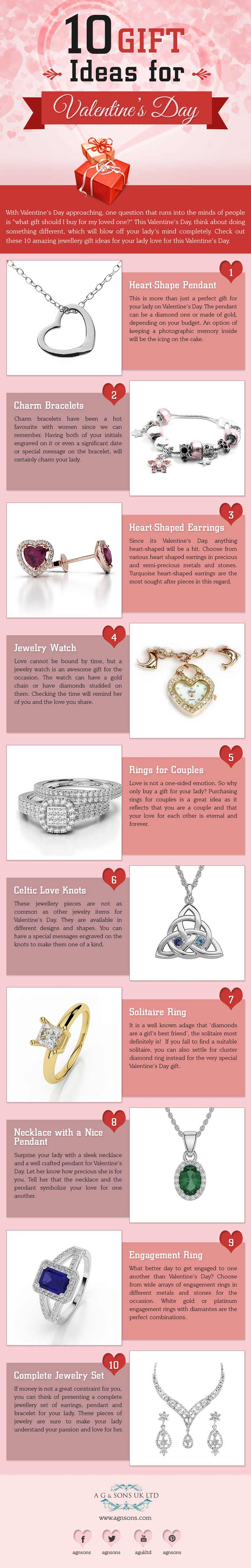 10 Gift Ideas for Woman on Valentine's Day