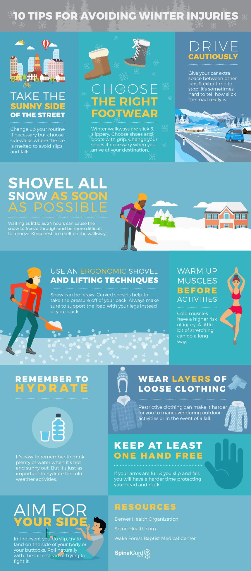 10 Tips for Avoiding Winter Injury