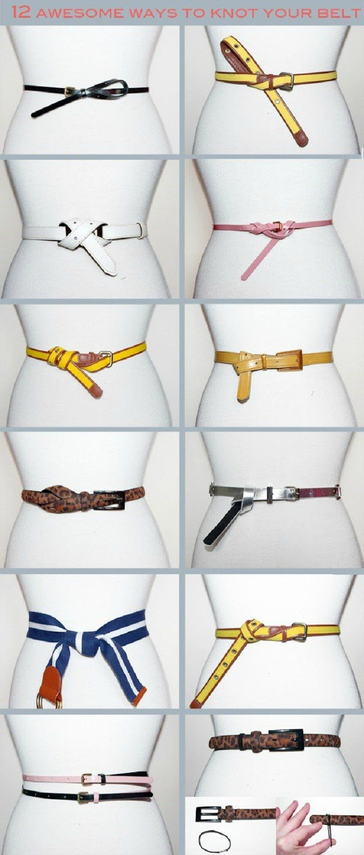 12 Awesome Ways to Knot Your Belt