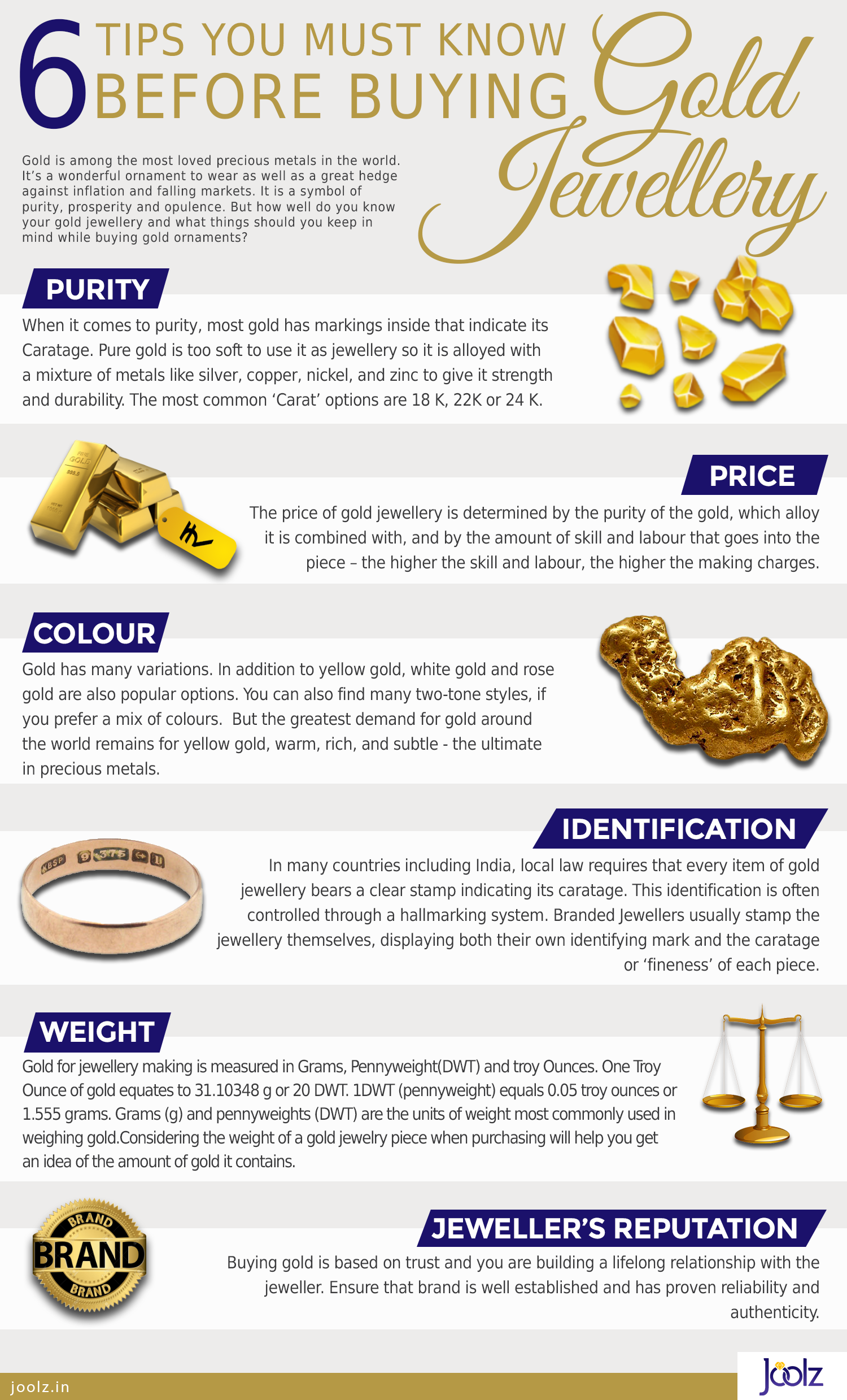 6 Tips You Must Know Before Buying Gold Jewellery