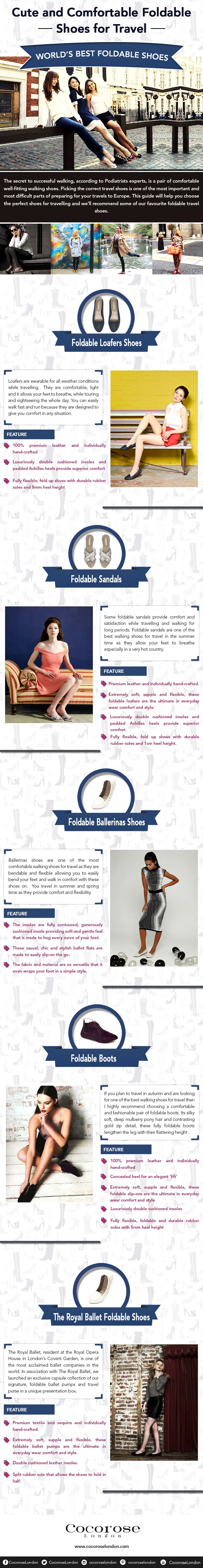 Cute and Comfortable Foldable Shoes for Travel