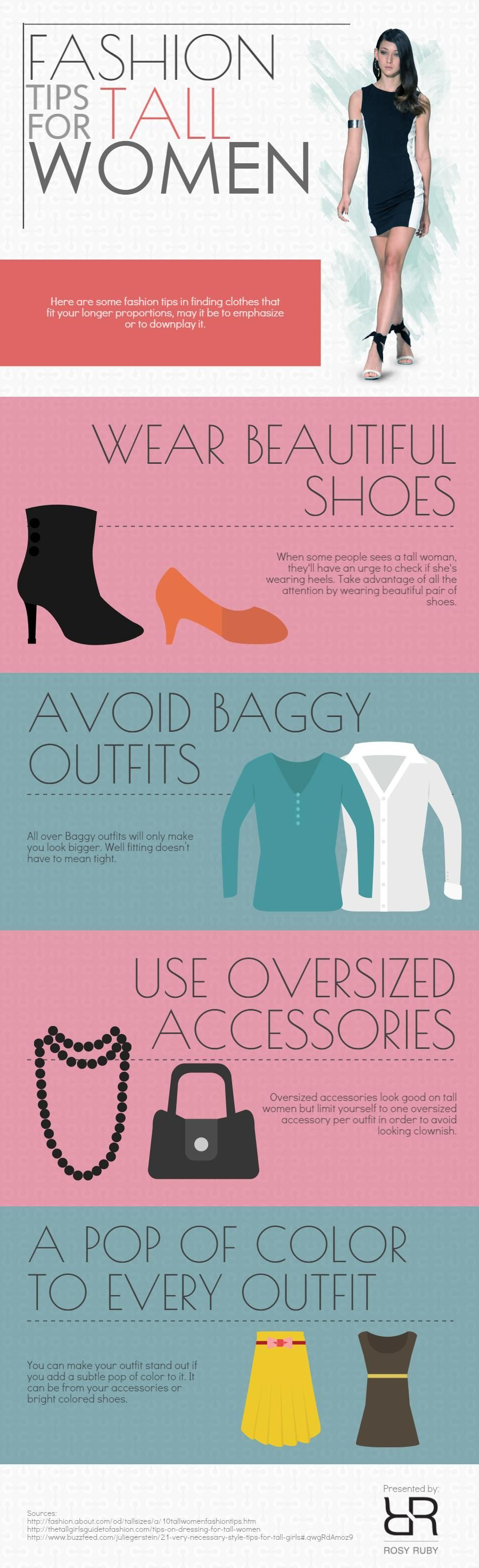 Fashion Tips for Tall Women