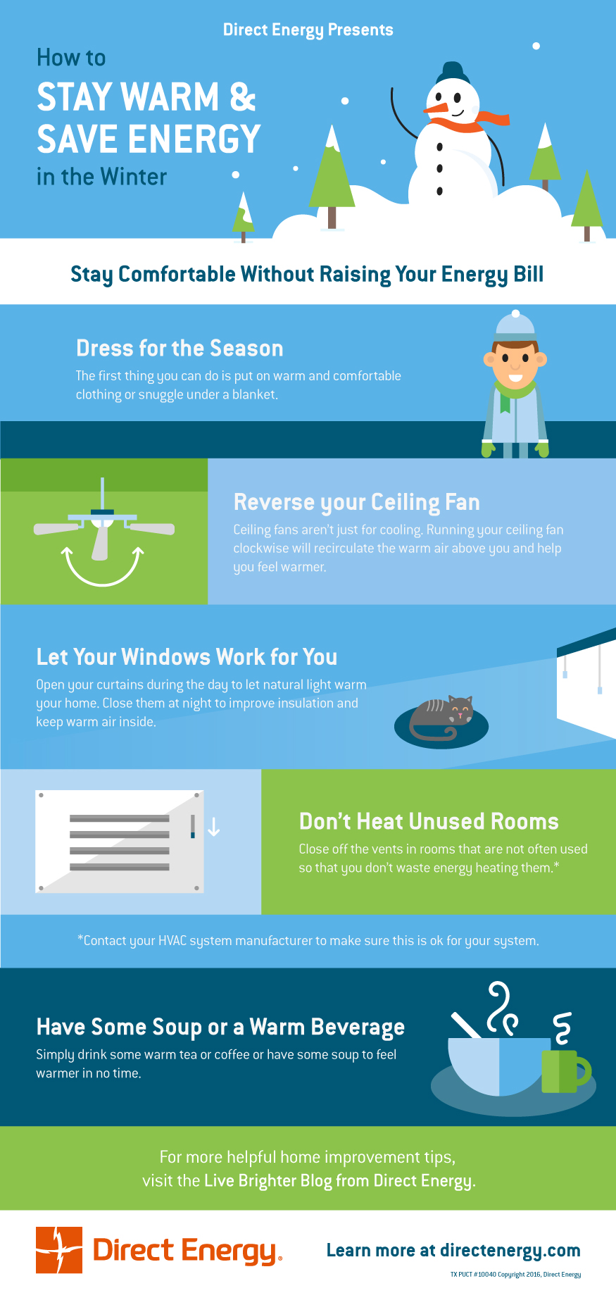 How to Save Energy in the Winter