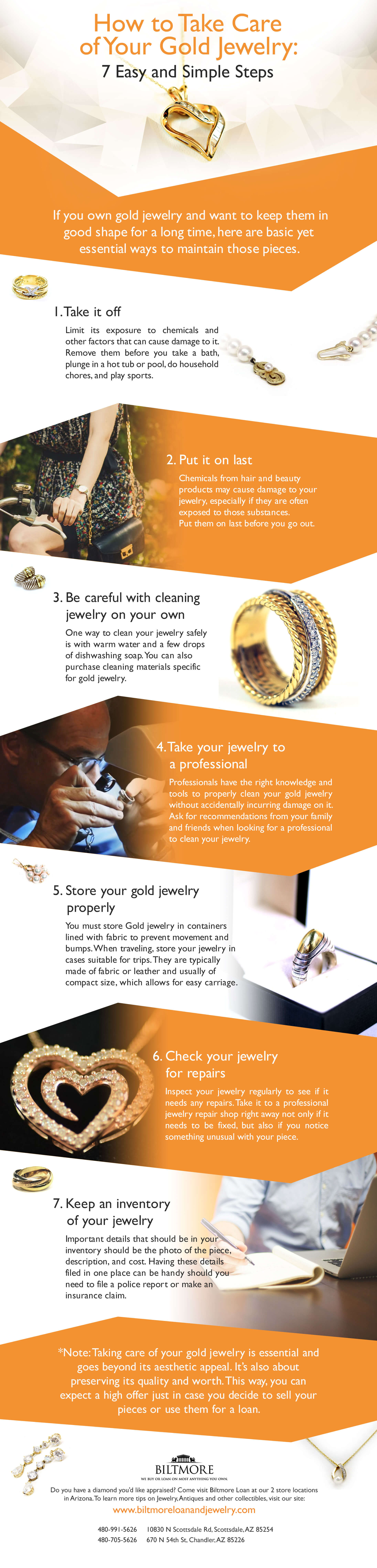 How to Take Care of Your Gold Jewelry
