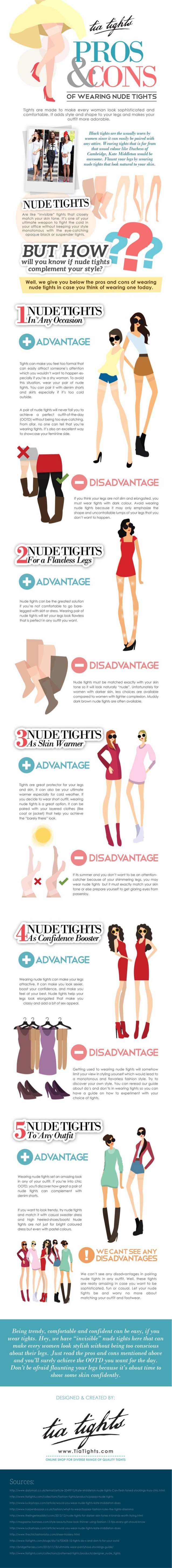The Pros and Cons of Wearing Nude Tights