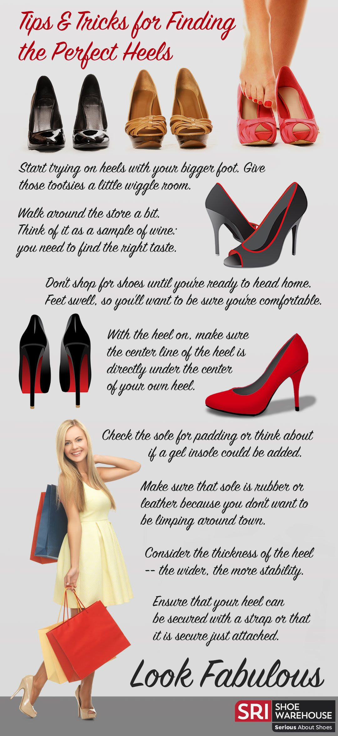 Tips and Tricks for Finding the Perfect Heels
