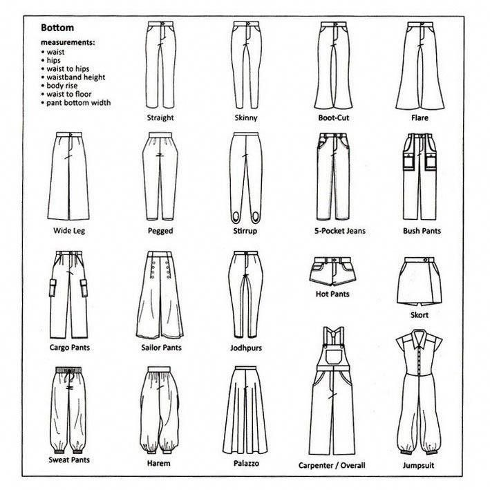 Types of Pants Every Women Should Know