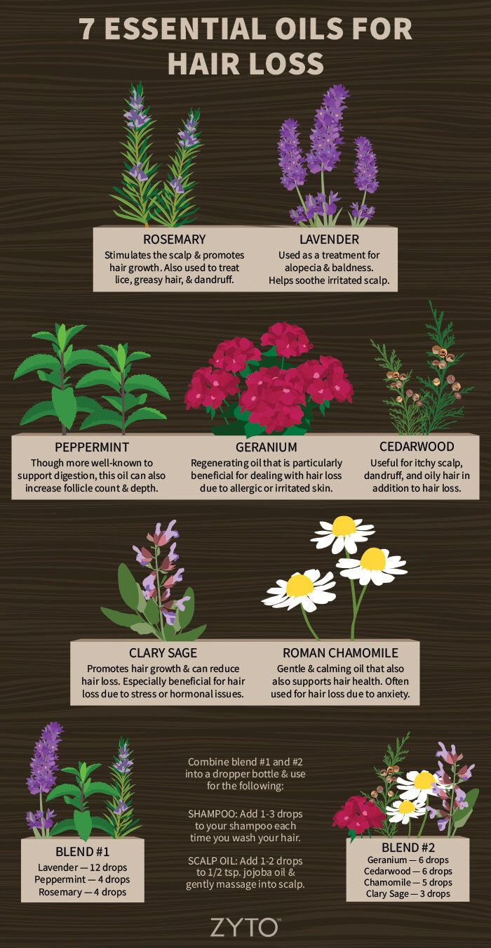 7 Essential Oils for Hair Loss