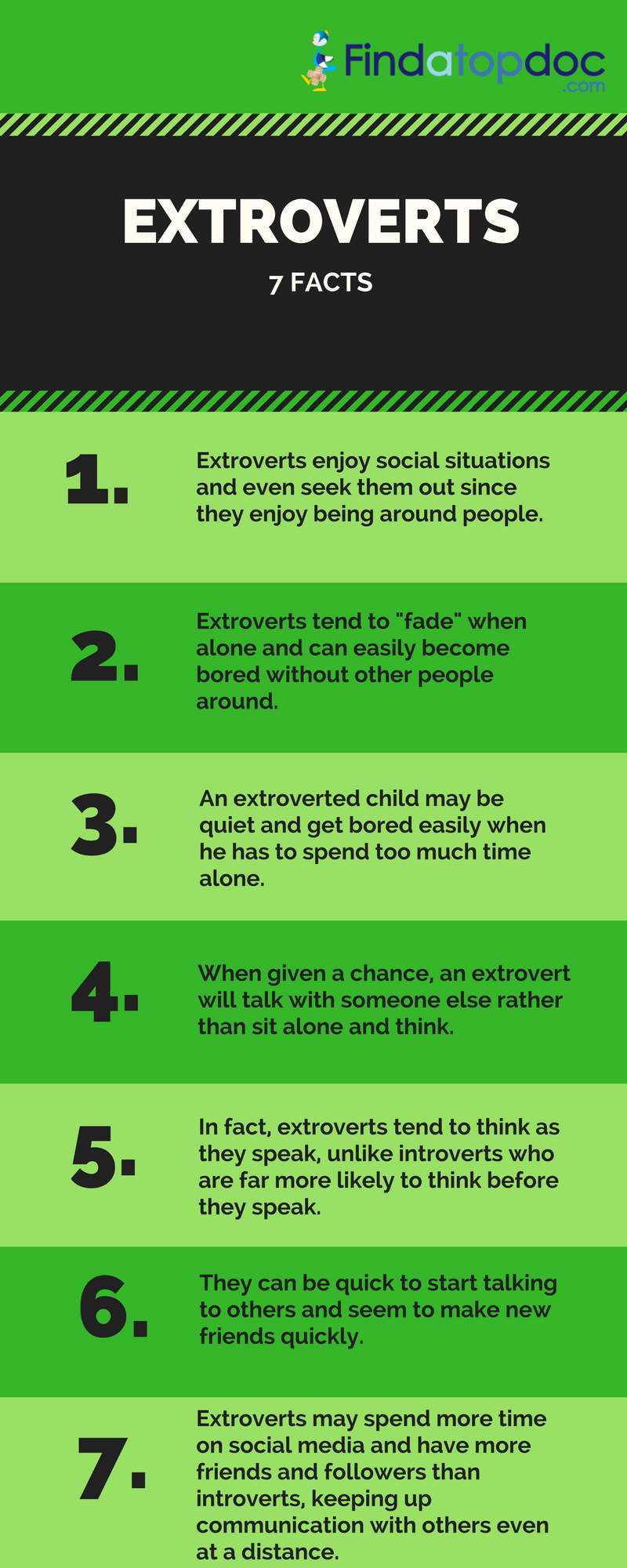 7 Facts About Extroverts