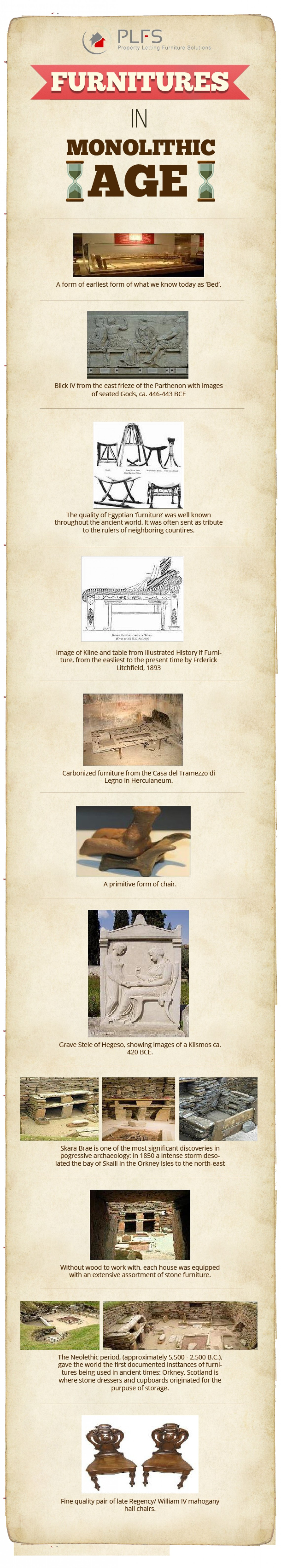 Furniture in Monolithic Age