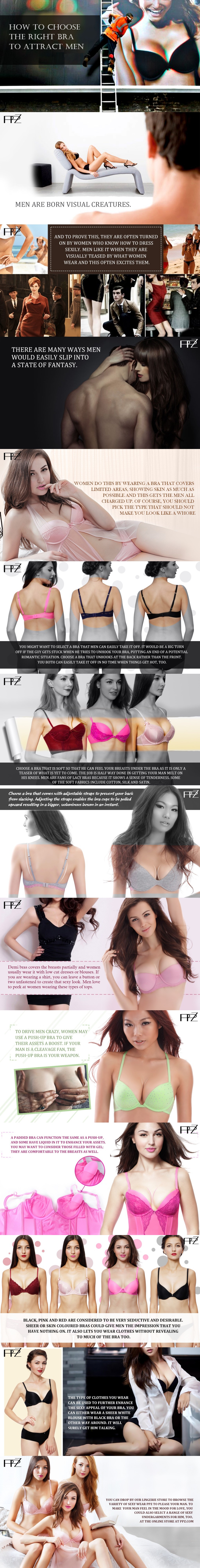 How to Choose the Right Bra to Attract Men