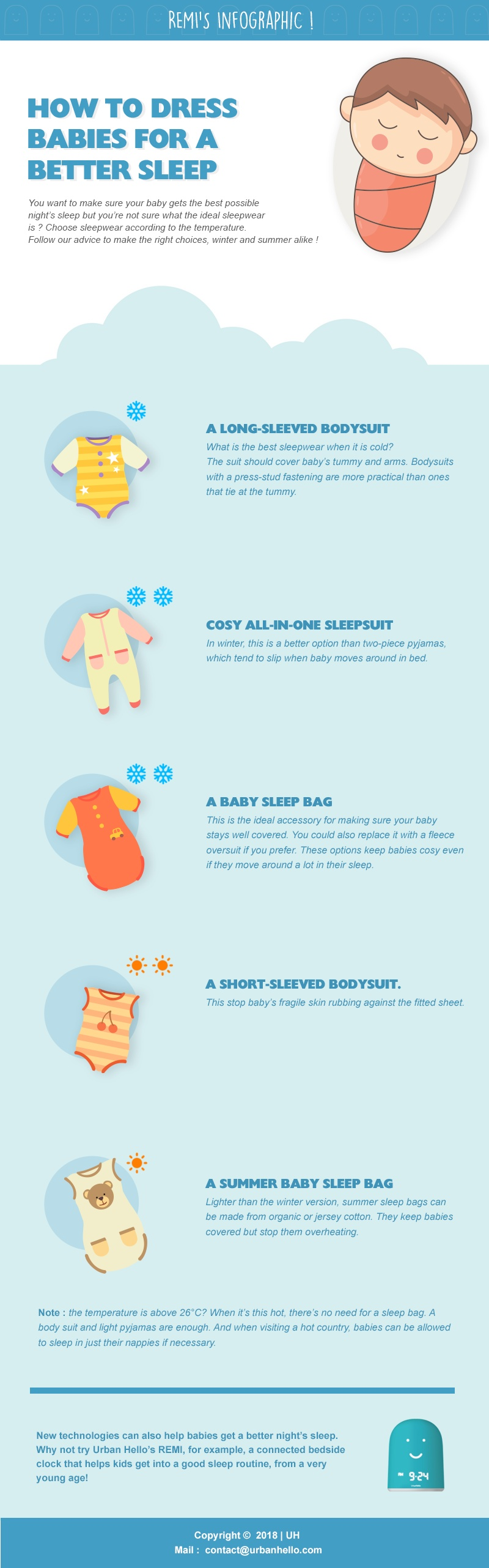 How to Dress Babies for a Better Sleep