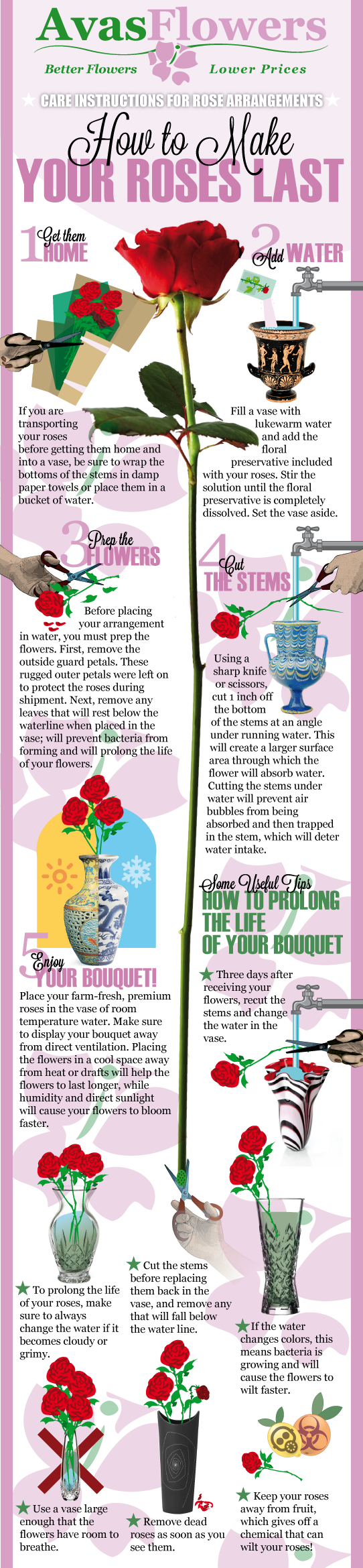 How to Make Your Roses Last